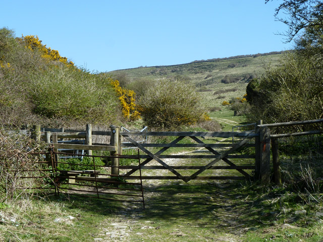 Gate and stile on track