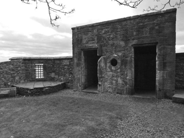 Dumbarton Castle: the Spur Battery