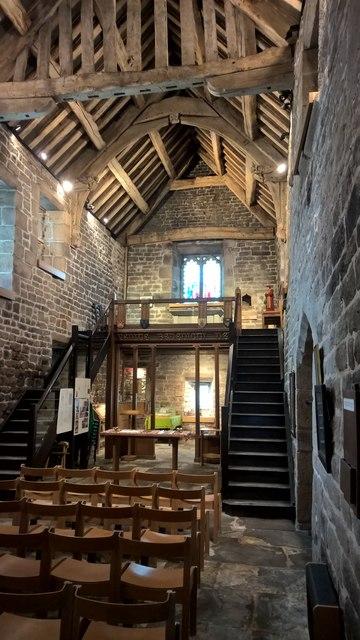 Inside Padley Chapel