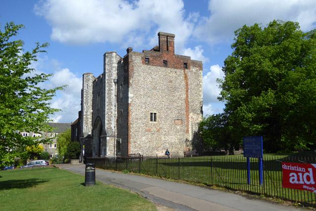 Former monastery gatehouse, St Albans