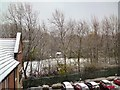 SJ9594 : First snow of winter 2016/17 by Gerald England