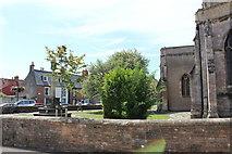 ST5445 : St Cuthbert's Church (3) by Chris' Buet