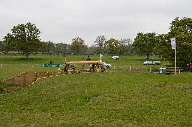 Badminton Horse Trials 2017: cross-country fence 14 - trakehner