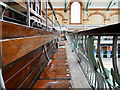 SJ8595 : Victoria Baths Gala Pool, Gallery Seating by David Dixon