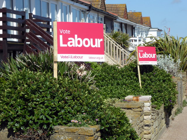 General Election 2017 Posters in Bexhill on Sea