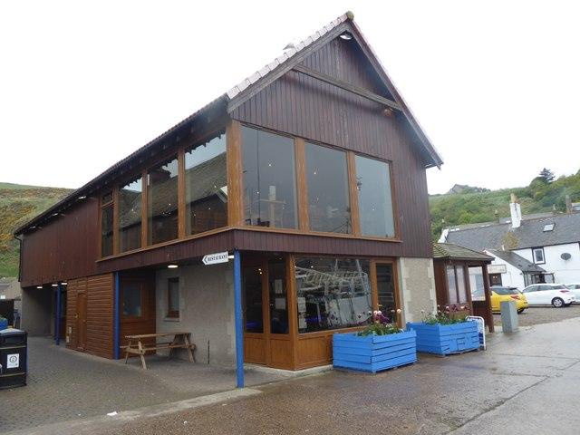 'Quayside' restaurant, Gourdon