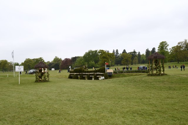 Badminton Horse Trials 2017: cross-country fence 17 - Mirage Pond