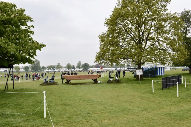 Badminton Horse Trials 2017: cross-country fence 20 - Dining Table