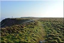 TA1281 : Footpath onto Filey Brigg by N Chadwick