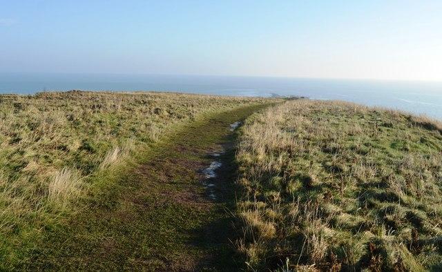 Footpath on Filey Brigg