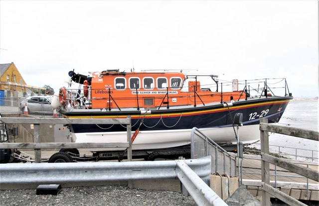 RNLB Eleanor and Bryant Girling, Newcastle Harbour
