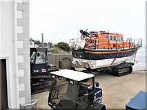 J3729 : RNLI Towing Tractors at Newcastle Harbour by Eric Jones