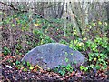 TQ8019 : Old grindstone at Powdermill Reservoir by Patrick Roper