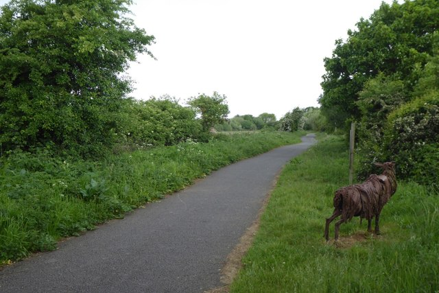 The Water Rail Way near Woodhall Spa
