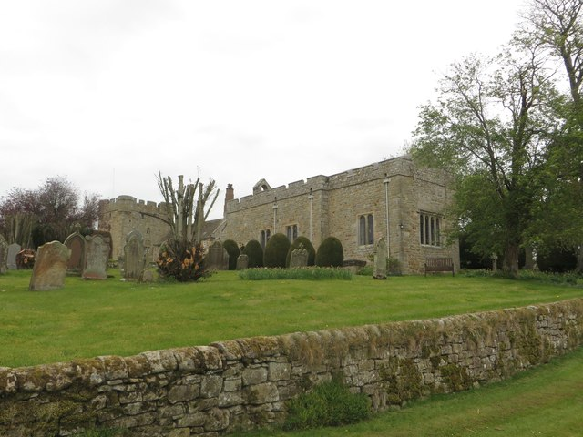 The Church of St Oswald, St Cuthbert and King Alfwald, Halton