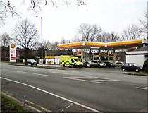 SJ9594 : Even Ambulances have to stop for fuel by Gerald England