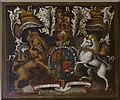 TF0774 : Royal Arms, St Edward's church, Barlings by Julian P Guffogg