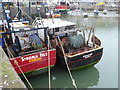 NO8270 : Prawn Fleet in town by Stanley Howe
