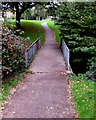 ST2894 : Footbridge over Dowlais Brook, Cwmbran by Jaggery