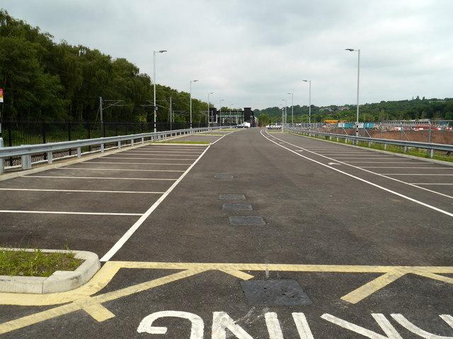 Car Park 2, Kirkstall Forge Station