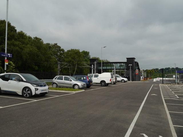 Car Park 2 at Kirkstall Forge Station