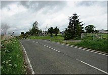 NO1604 : Turning into Dryside Road, Lomond Hills by Bill Kasman