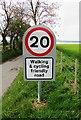 NO1604 : Road sign on Dryside Road, Lomond Hills by Bill Kasman