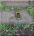NY7287 : Ordnance Survey rivet by Michael Rye