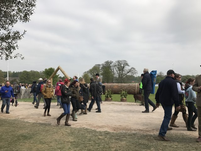 Badminton Horse Trials 2017: cross-country fence 29 - log