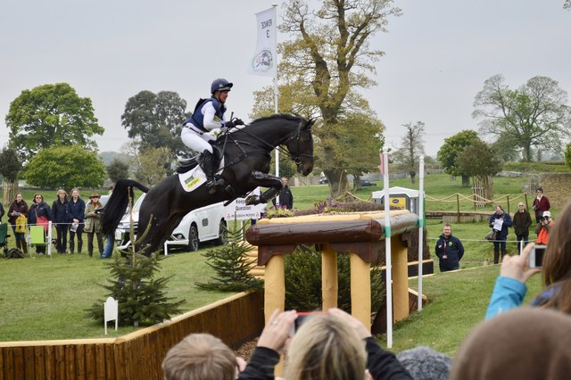 Badminton Horse Trials 2017: cross-country fence 3 - table