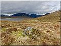 NH2875 : On the moraines by Loch a' Gharbhrain by Julian Paren