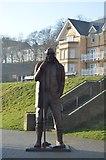 TA1280 : Fisherman Statue by N Chadwick