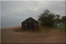 SX9573 : Hut, Sprey Point by N Chadwick