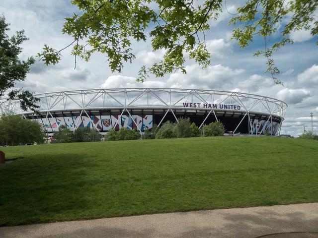 Stadium, Olympic Park, Stratford, East London