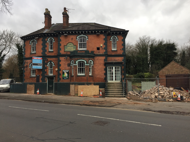 The former Great Western public house, Coventry Road, Warwick