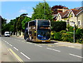 SO8305 : Stagecoach Gold double-decker bus in Cainscross, Stroud by Jaggery