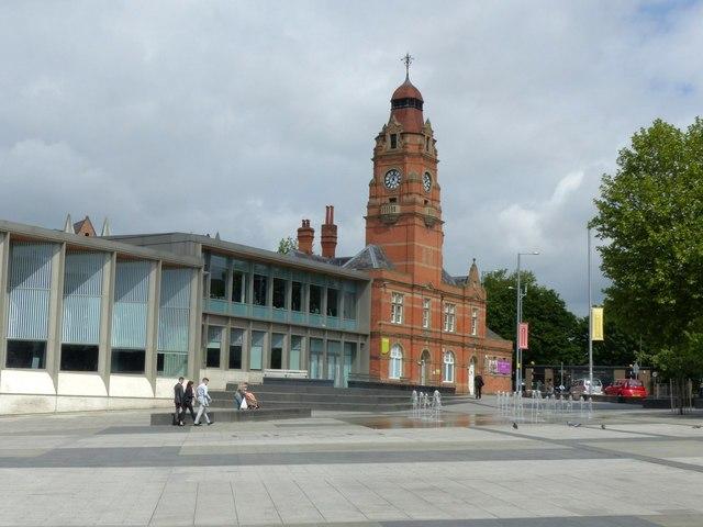 Sneinton Market and Victoria Leisure Centre