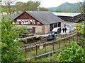 SH5938 : The Ffestiniog Railway's Minffordd yard by Christine Johnstone