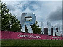 TQ3784 : Copper Box Arena, Olympic Park, Stratford by Christine Matthews