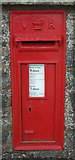 NT5247 : Close up, Victorian postbox on West High Street, Lauder by JThomas