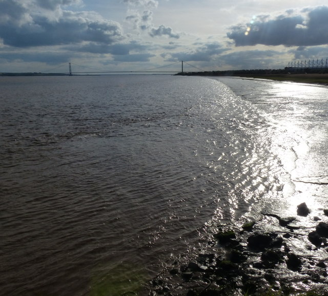 Shoreline of the Humber
