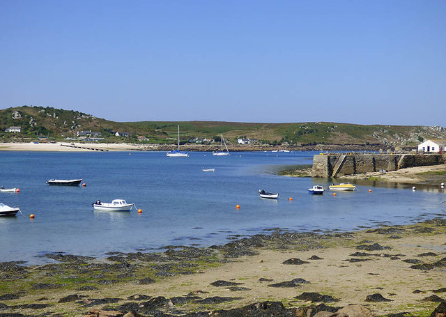 Extreme low tide, New Grimsby, Tresco