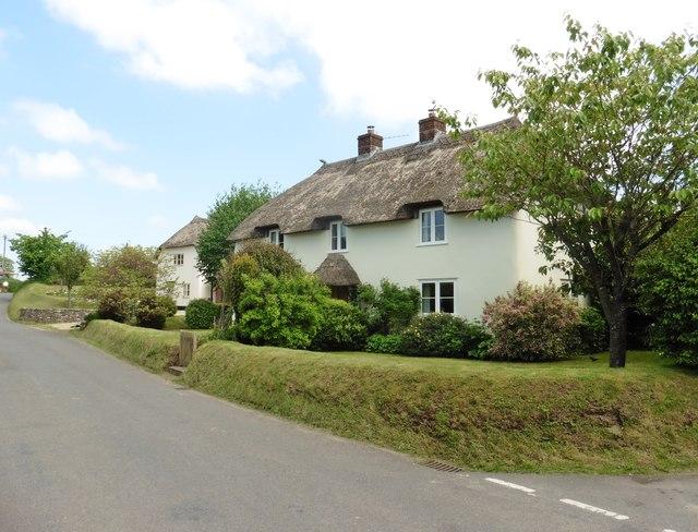 Thatched cottages, Rawridge