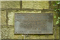 SK3340 : Plaque marking a 17th century well by Malcolm Neal