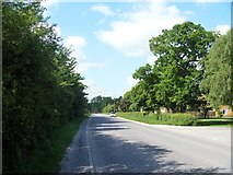 SU0270 : The road to Compton Bassett by Michael Dibb