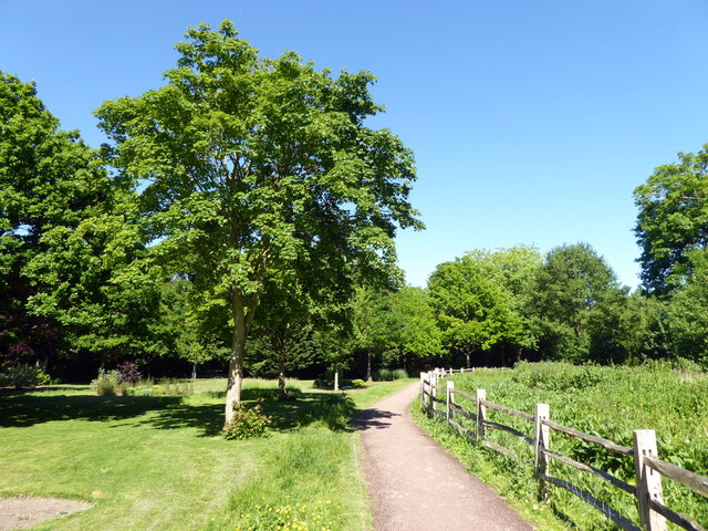 Path in Hampden Park