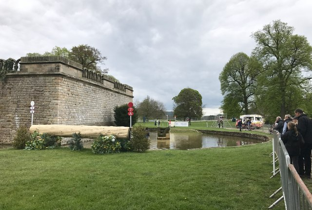 Queen Mary's Bower at Chatsworth Horse Trials