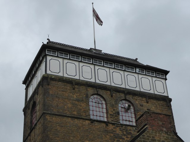 Hook Norton Brewery - Top of the tower