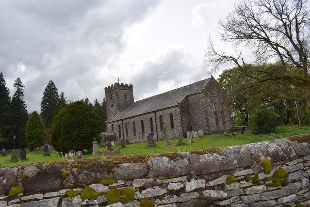 St Oswalds church Ravenstonedale.