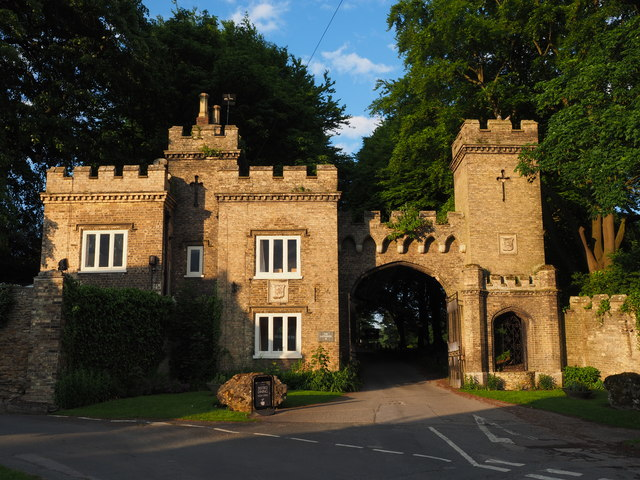 Cave Castle's Main Entrance